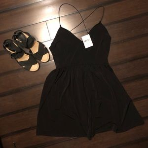 NWT LITTLE BLACK DRESS FROM FOREVER 21 SZ L.